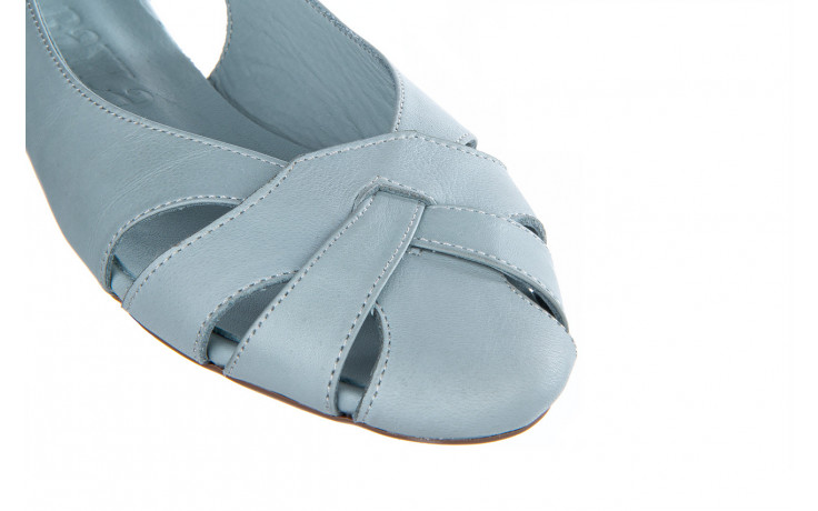 Baleriny bayla-161 138 1560 fresh 161220, niebieski, skóra naturalna - skórzane - baleriny - buty damskie - kobieta 7