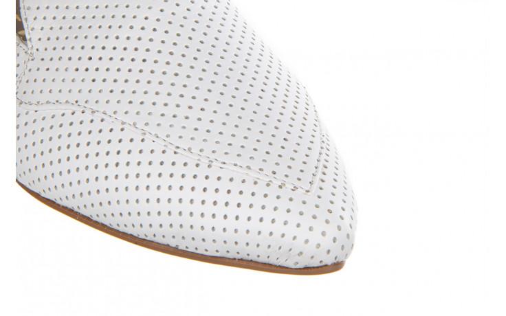 Półbuty bayla-161 138 1115 white 161219, biały, skóra naturalna  - bayla - nasze marki 6