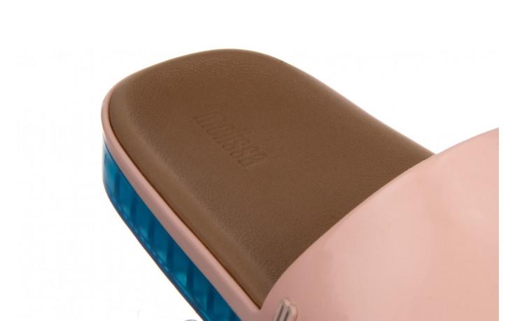 Klapki melissa beach slide next gen ad pink blue 010339, róż, guma - klapki - buty damskie - kobieta 6