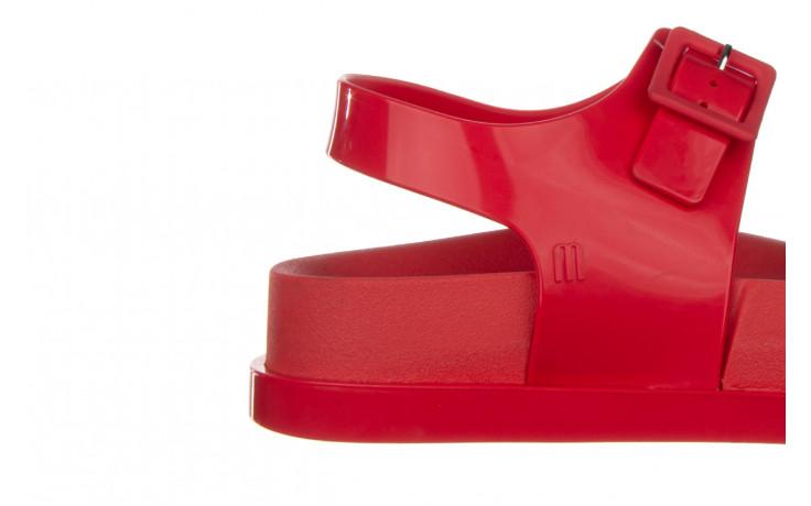 Sandały melissa wide platform ad red 010363, czerwony, guma - nowości 6