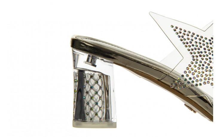 Klapki sca'viola g-59 gold 047189, złoty, silikon - klapki - buty damskie - kobieta 6