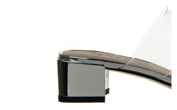 Klapki sca'viola b-205 silver 047180, srebro, silikon - klapki - buty damskie - kobieta 7