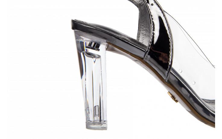 Sandały sca'viola g-17 silver 21 047186, srebro, silikon 6