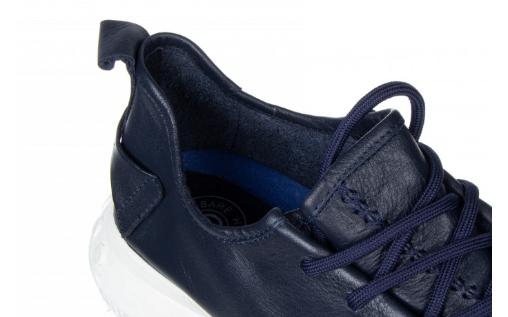 Trampki john doubare 198h-50-n454 blue 104168, granat, skóra naturalna - trampki - buty męskie - mężczyzna 7