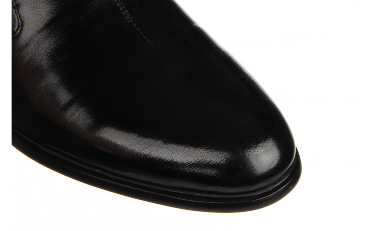 Półbuty john doubare ygc-z253-351-1 black 104176, czarny, skóra naturalna  - nowości 6