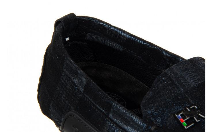 Mokasyny john doubare y198-109 black 104177, czarny, skóra naturalna  - nowości 7