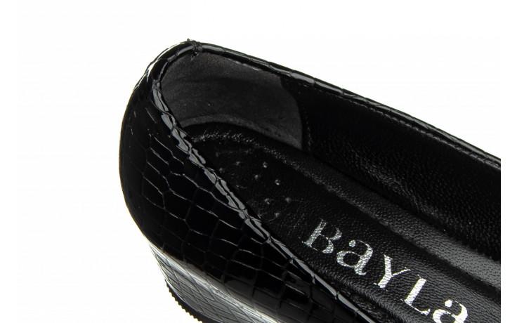Baleriny bayla-187 105 black 187013, czarny, skóra naturalna  - bayla - nasze marki 6