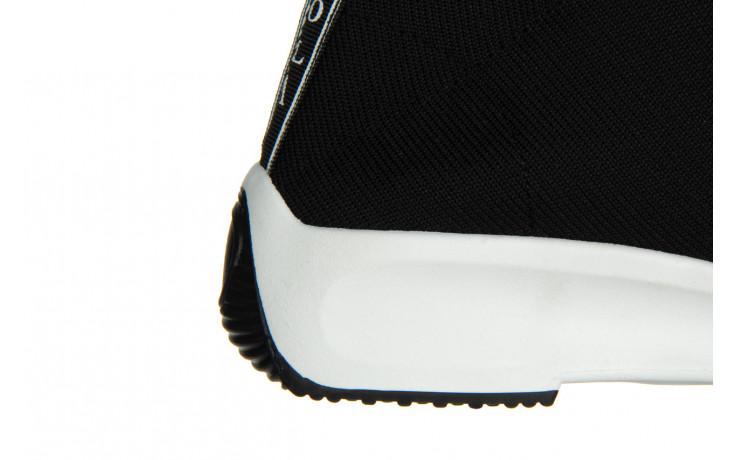 Sneakersy sca'viola l-16 black 047195, czarny, materiał - jesień-zima 2020/2021 7