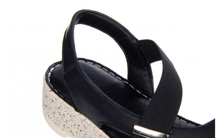 Sandały bayla-161 016 901 black 161191, czarny, skóra naturalna  - bayla - nasze marki 6