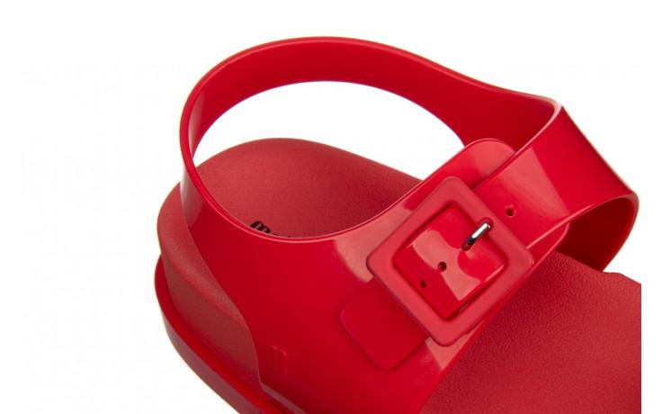 Sandały melissa wide platform ad red 010363, czerwony, guma - nowości 7