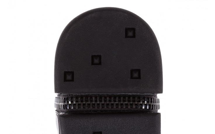 Sneakersy john doubare m5761-1 black, czarny , skóra naturalna  - trendy - mężczyzna 7