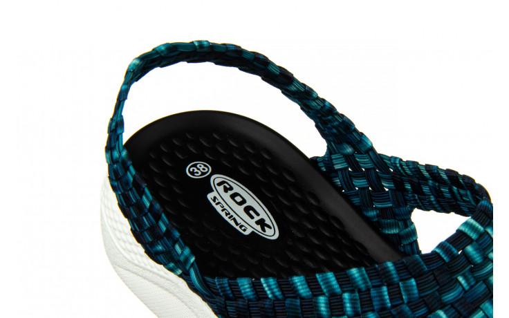Sandały rock etruria indigo smoke 032832, niebieski, materiał - rock - nasze marki 7
