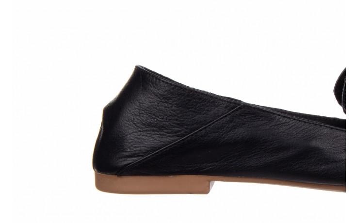 Półbuty bayla-161 138 4060 black 161222, czarny, skóra naturalna  - wsuwane - półbuty - buty damskie - kobieta 7