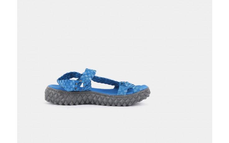 Sandały rock california washed elblue, niebieski, materiał  - rock - nasze marki 4