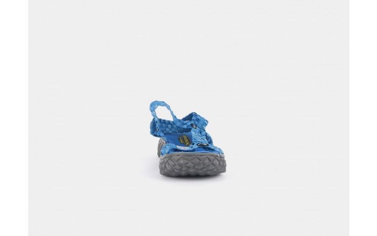 Sandały rock california washed elblue, niebieski, materiał  - rock - nasze marki