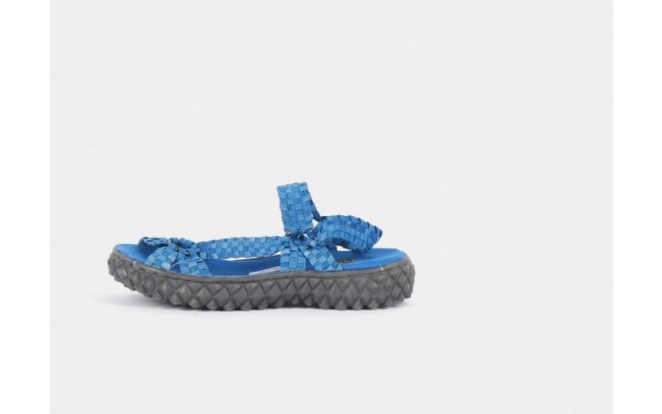 Sandały rock california washed elblue, niebieski, materiał  - rock - nasze marki 1
