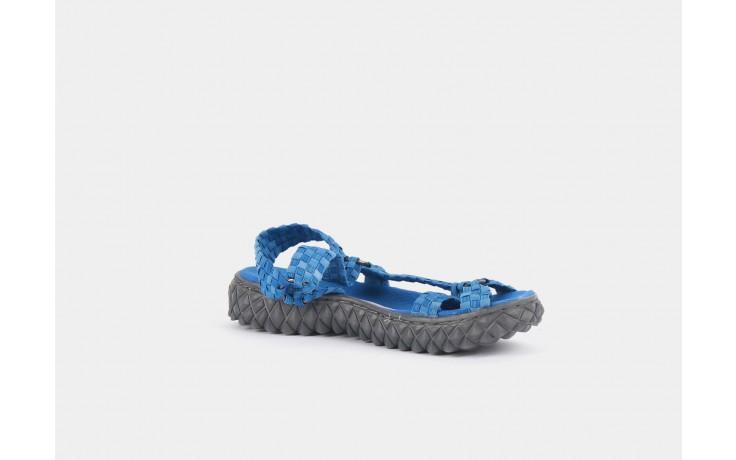 Sandały rock california washed elblue, niebieski, materiał  - rock - nasze marki 5