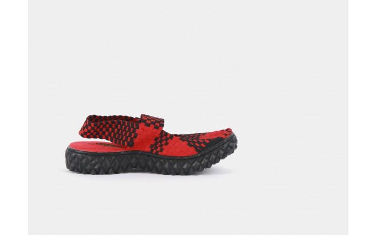 Rock over sandal red-black - rock - nasze marki 1