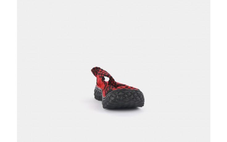 Rock over sandal red-black - rock - nasze marki 5