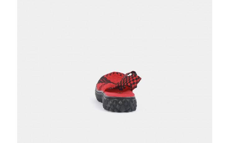 Rock over sandal red-black - rock - nasze marki 6