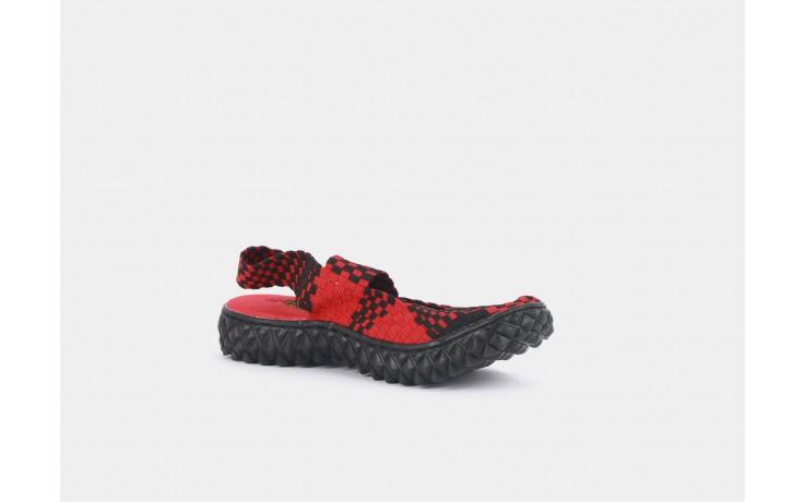 Rock over sandal red-black - rock - nasze marki 2