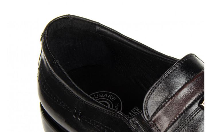 Półbuty john doubare ygc-z253-351-1 black 104176, czarny, skóra naturalna  - nowości 7