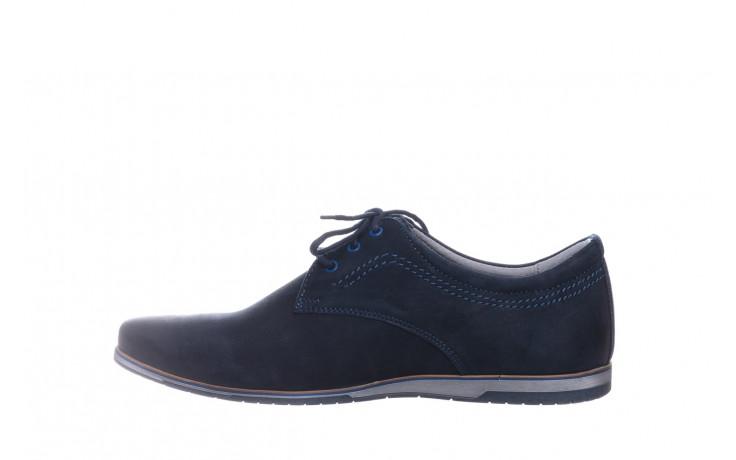 Półbuty bayla-081 877 juma blue, granat, skóra naturalna - buty męskie - mężczyzna 2