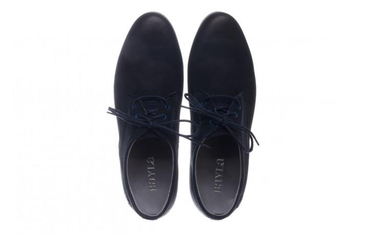 Półbuty bayla-081 877 juma blue, granat, skóra naturalna - buty męskie - mężczyzna 4