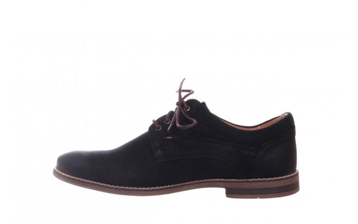 Półbuty bayla-081 831 juma czarna ax, czarny, skóra naturalna - buty męskie - mężczyzna 2