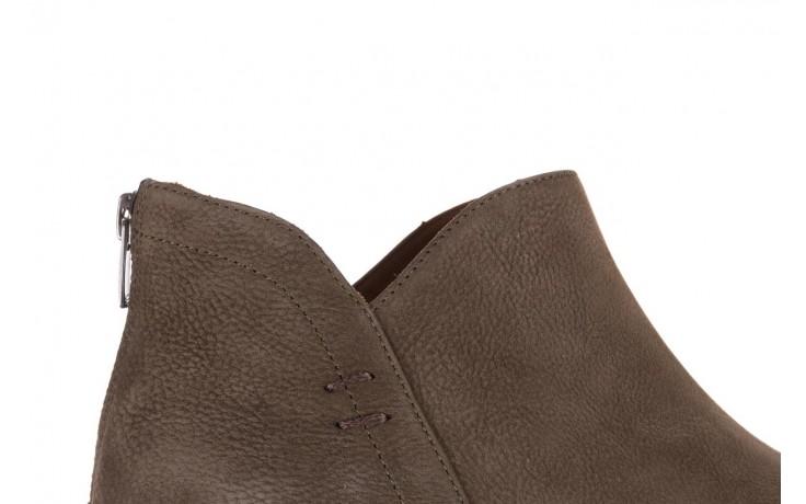 Botki bayla-161 061-2001 khaki, zielony, skóra naturalna  - bayla - nasze marki 6