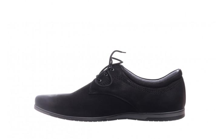 Półbuty bayla-081 877 juma czarna, czarny, skóra naturalna - buty męskie - mężczyzna 2