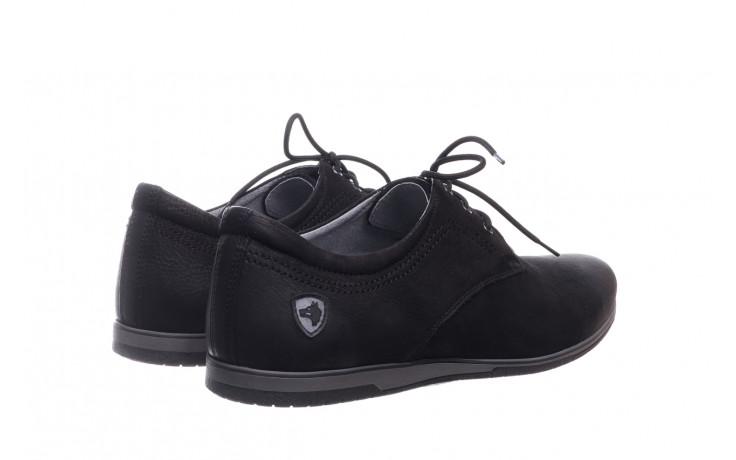 Półbuty bayla-081 877 juma czarna, czarny, skóra naturalna - buty męskie - mężczyzna 3