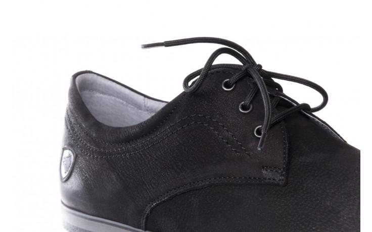 Półbuty bayla-081 877 juma czarna, czarny, skóra naturalna - buty męskie - mężczyzna 5