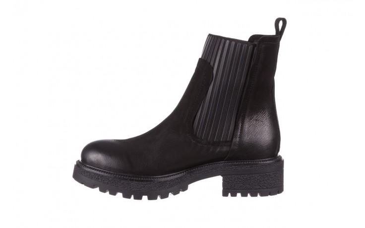 Botki bayla-161 050-0508 black, czarny, skóra naturalna  - skórzane - botki - buty damskie - kobieta 3