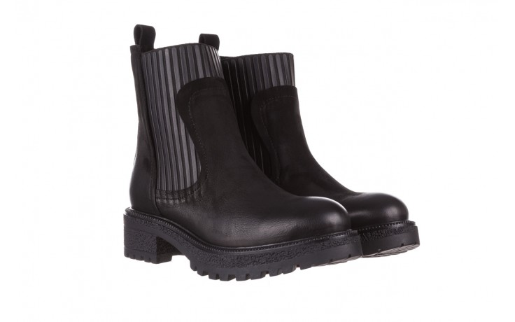 Botki bayla-161 050-0508 black, czarny, skóra naturalna  - skórzane - botki - buty damskie - kobieta 1