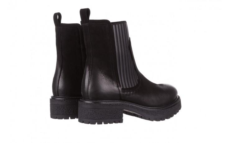 Botki bayla-161 050-0508 black, czarny, skóra naturalna  - skórzane - botki - buty damskie - kobieta 4