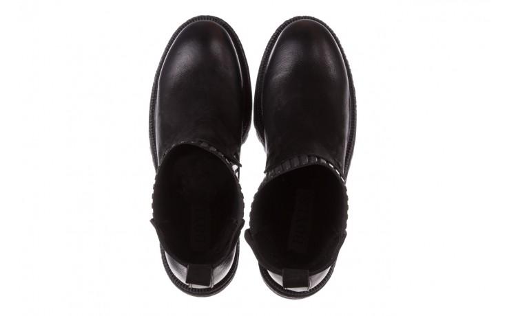 Botki bayla-161 050-0508 black, czarny, skóra naturalna  - skórzane - botki - buty damskie - kobieta 5