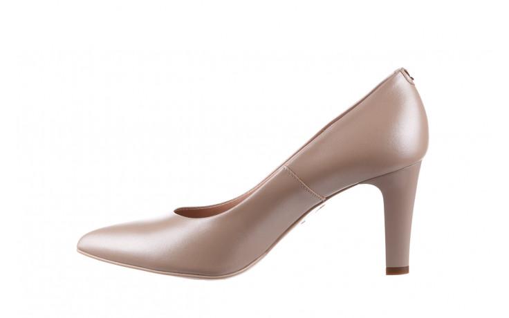 Czółenka bayla-056 7060-1461 beż perła 056516, skóra naturalna  - na słupku - czółenka - buty damskie - kobieta 3