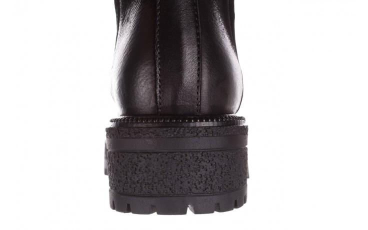 Botki bayla-161 050-0508 black, czarny, skóra naturalna  - skórzane - botki - buty damskie - kobieta 8