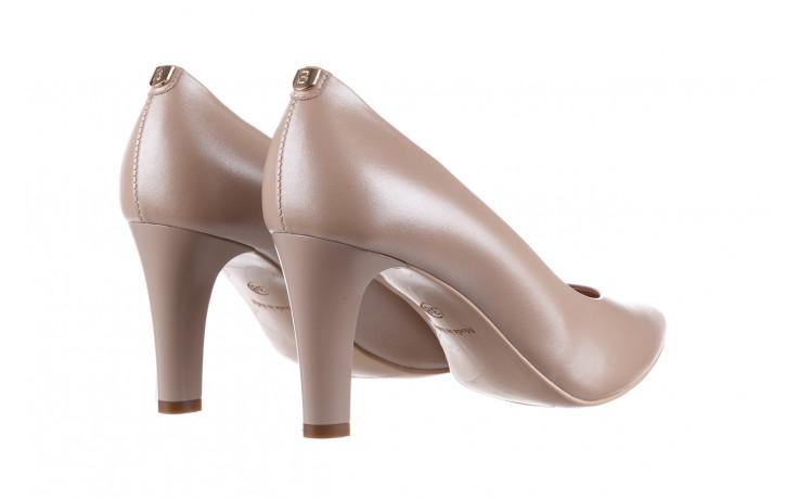 Czółenka bayla-056 7060-1461 beż perła 056516, skóra naturalna  - na słupku - czółenka - buty damskie - kobieta 4