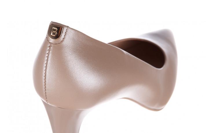 Czółenka bayla-056 7060-1461 beż perła 056516, skóra naturalna  - na słupku - czółenka - buty damskie - kobieta 6