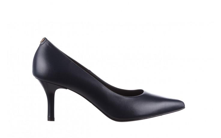 Czółenka bayla-056 9117-766 granat 056517, skóra naturalna  - skórzane - czółenka - buty damskie - kobieta