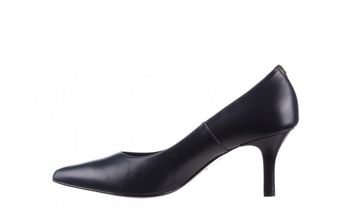 Czółenka bayla-056 9117-766 granat 056517, skóra naturalna  - skórzane - czółenka - buty damskie - kobieta 3