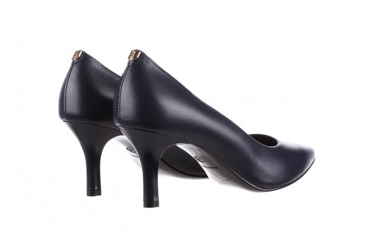 Czółenka bayla-056 9117-766 granat 056517, skóra naturalna  - skórzane - czółenka - buty damskie - kobieta 4