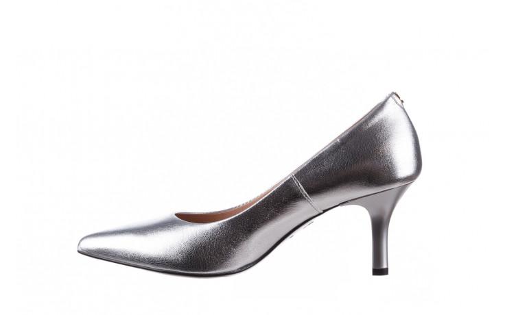 Czółenka bayla-056 9117-1103 srebrny 056518, skóra naturalna  - skórzane - czółenka - buty damskie - kobieta 3