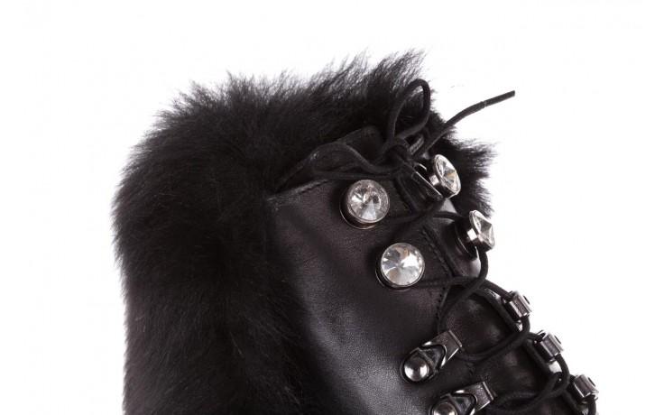 Trzewiki bayla-161 068-9015 black, czarny, skóra naturalna - botki i trzewiki - dla niej  - sale 7