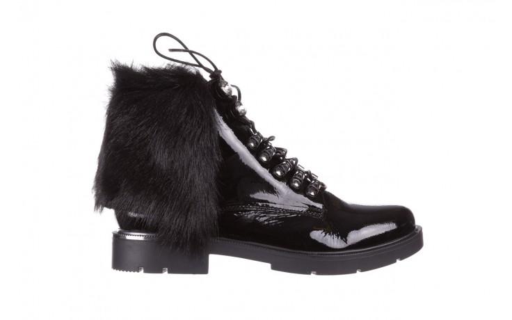 Trzewiki bayla-161 068-9015 black patent, czarny, skóra naturalna lakierowana  - trzewiki - buty damskie - kobieta