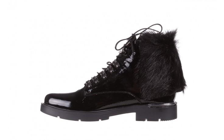 Trzewiki bayla-161 068-9015 black patent, czarny, skóra naturalna lakierowana  - trzewiki - buty damskie - kobieta 3