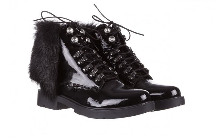 Trzewiki bayla-161 068-9015 black patent, czarny, skóra naturalna lakierowana  - trzewiki - buty damskie - kobieta 1