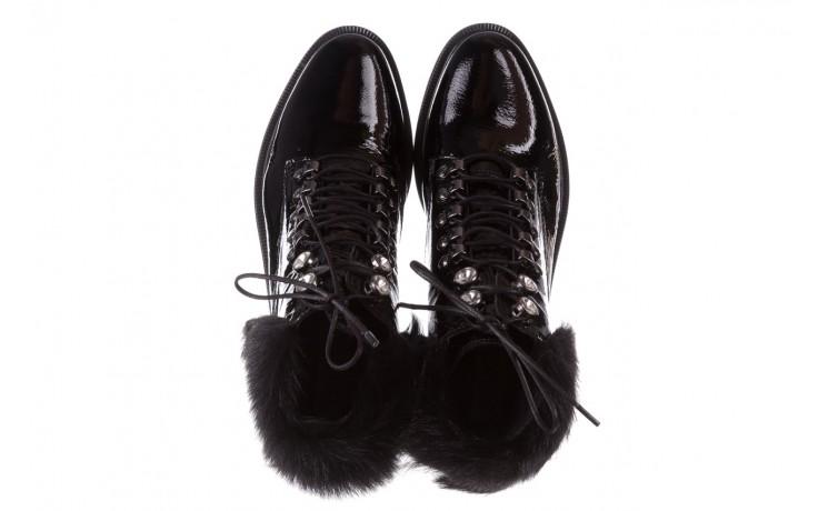 Trzewiki bayla-161 068-9015 black patent, czarny, skóra naturalna lakierowana  - trzewiki - buty damskie - kobieta 5